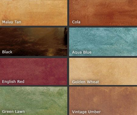 The beauty of color dyed and acid stained garage floors for How to clean acid stain floors