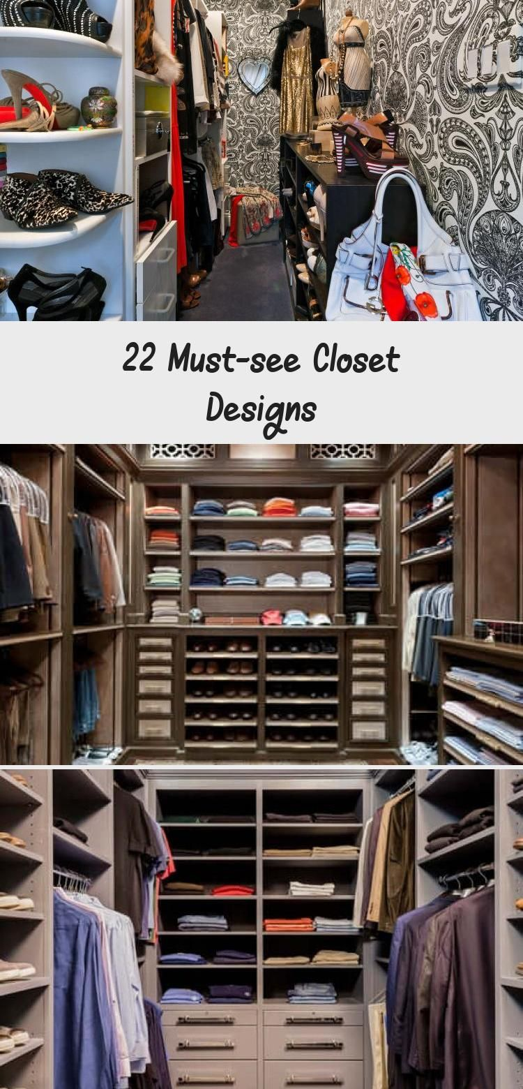 Photo of 22 Must-see Closet Designs – Dulce's Blog