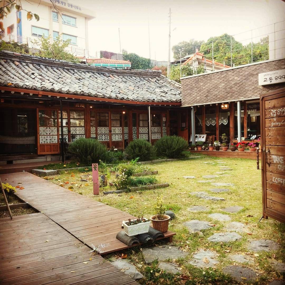#강릉 #한옥 #카페 #교동 #899 #Korean #Hanok #cafe #embroidery