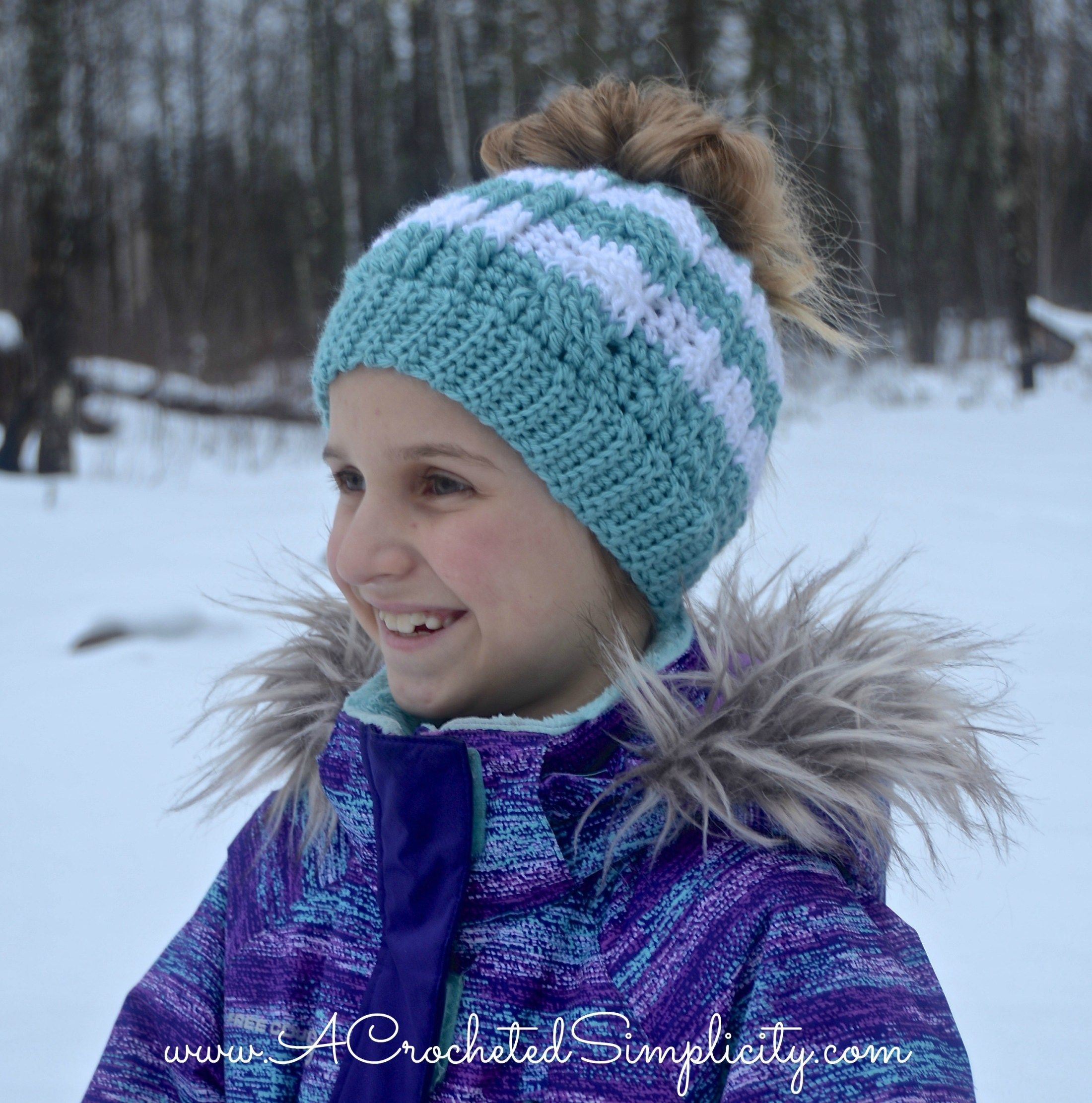 #simplicity #crocheted #included #tutorial #crochet #pattern #cabled #messy #sizes #video #free #kids #bun #hat #byFree Crochet Pattern - Crochet Cabled Messy Bun (Kids' Sizes) (video tutorial included Free Crochet Pattern - Cabled Messy Bun Hat (video tutorial included) by A Crocheted SimplicityFree Crochet Pattern - Cabled Messy Bun Hat (video tutorial included) by A Crocheted Simplicity #kidsmessyhats