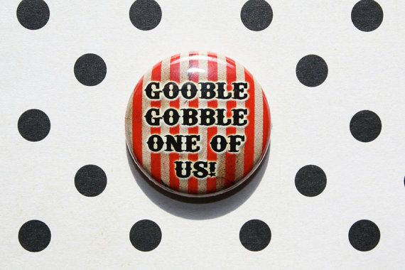Freaks One Inch Pinback Button by ThereWillBeButtons on Etsy