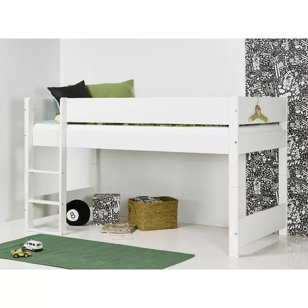 Harriet Bee Huxie European Single Mid Sleeper Bed with