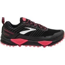 Brooks Damen Trailrunningschuhe Cascadia 13 Gtx, Größe 38 in Black/Pink/Coral, Größe 38 in Black/Pin