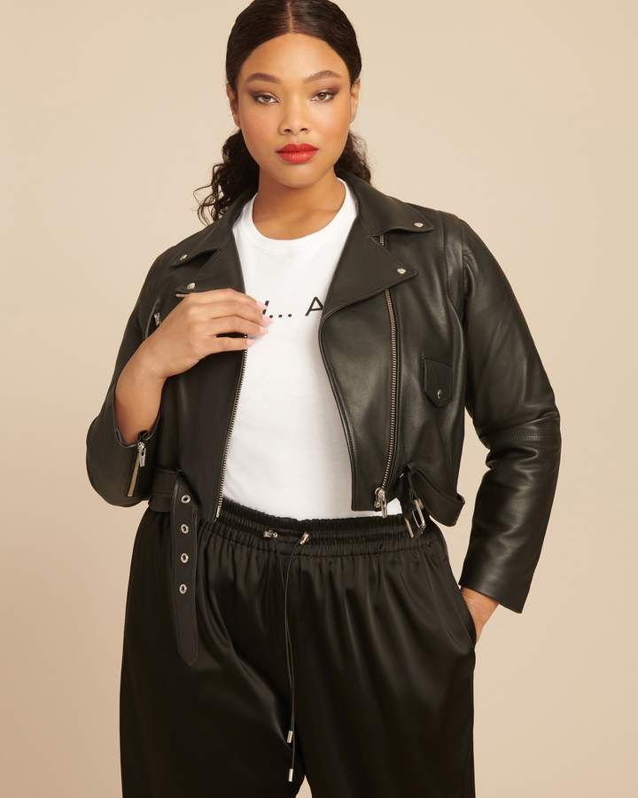 6f16c5cbff2 Veda Baby Jane Zip-Off Smooth Leather Jacket in 2019 | Products ...