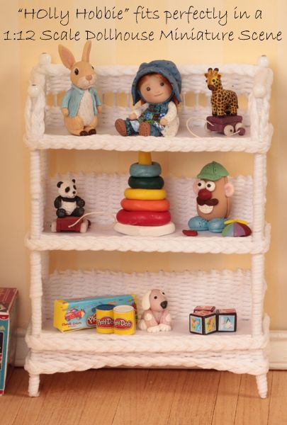 1 12 Dollhouse Miniature Baby Nursery Toy Quot Holly Hobbie