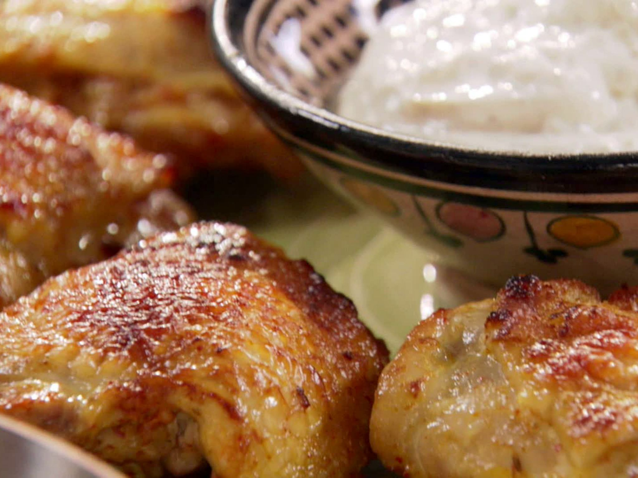 Roasted curry chicken thighs with yogurt cumin sauce receta forumfinder Images
