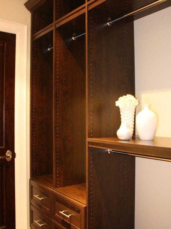 closet by Toronto Custom Concepts http://www.houzz.com/photos/1702707/Closets-traditional-closet-toronto