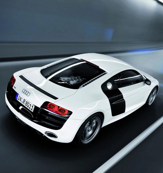 Audi R8 Ebay: Carbon Fiber Dreaming: White Audi R8 V8. The Car Of Your