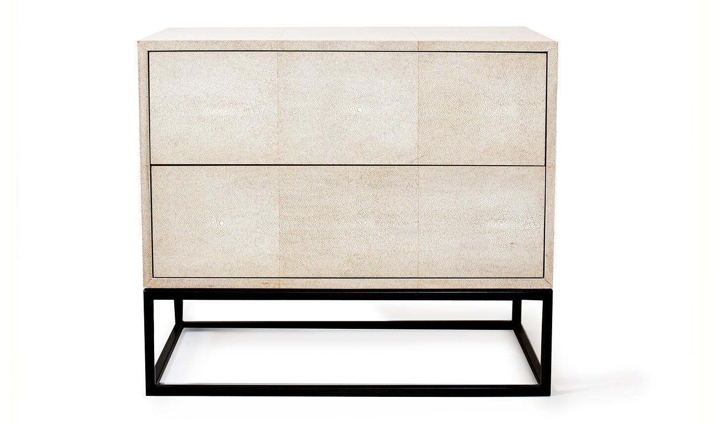 Shagreen elegant nightstand | products. | Pinterest ...