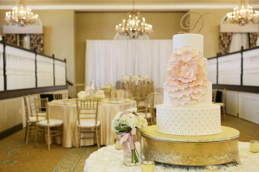 Timeless Elegant Blush Pink Gold St Pete Beach Wedding