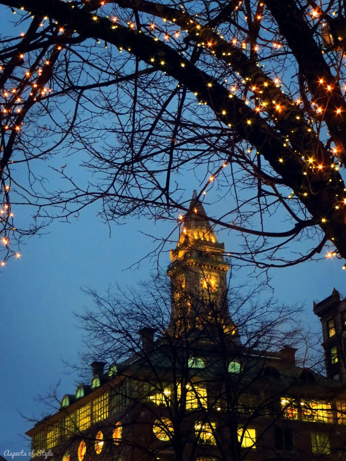 faneuil hall christmas tree lighting. Christmas Lights In Faneuil Hall, Boston Hall Tree Lighting