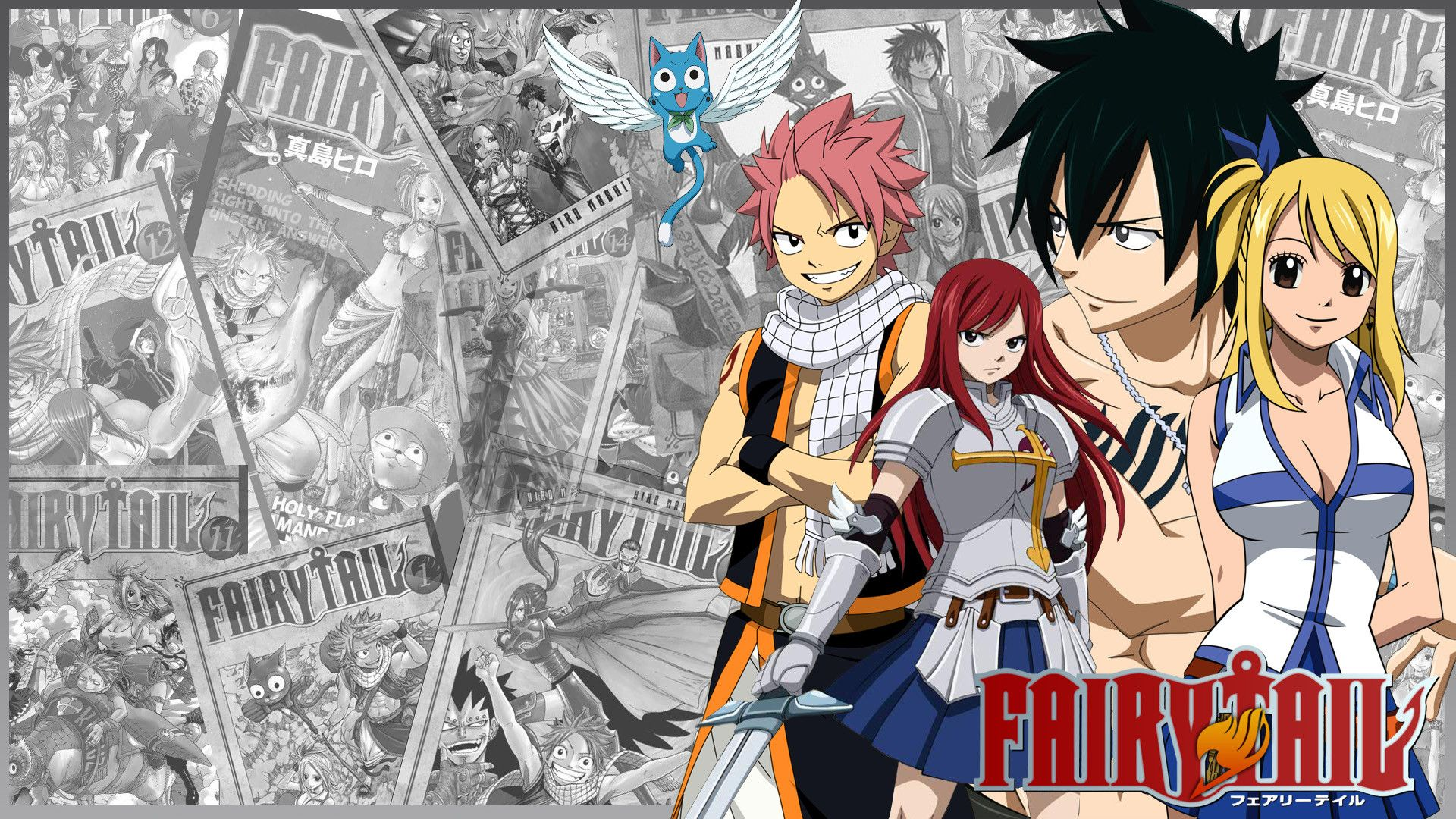 Cool Fairy Tail Wallpapers Group HD Wallpapers Pinterest