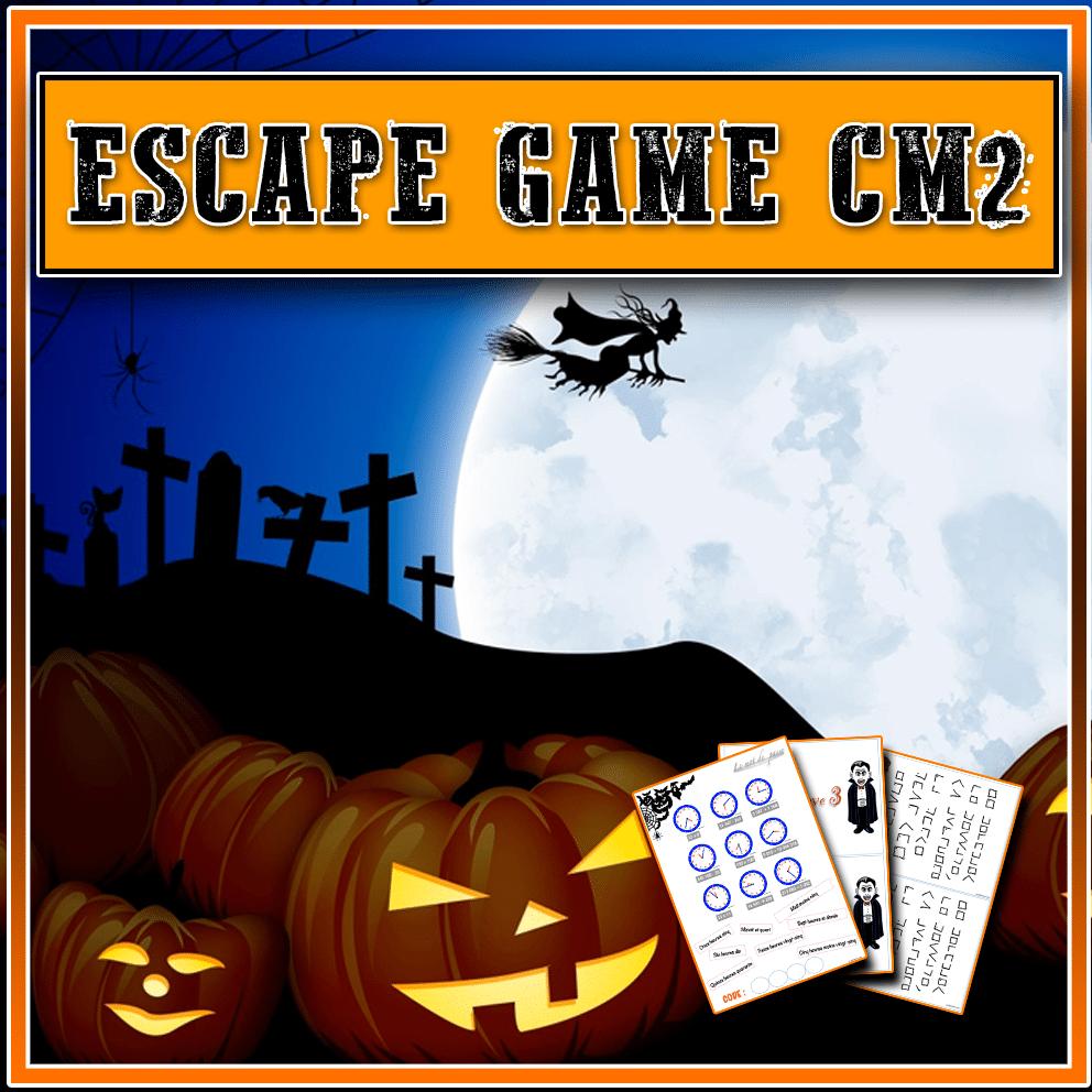 Escape Game CM2 pour Halloween Cm2