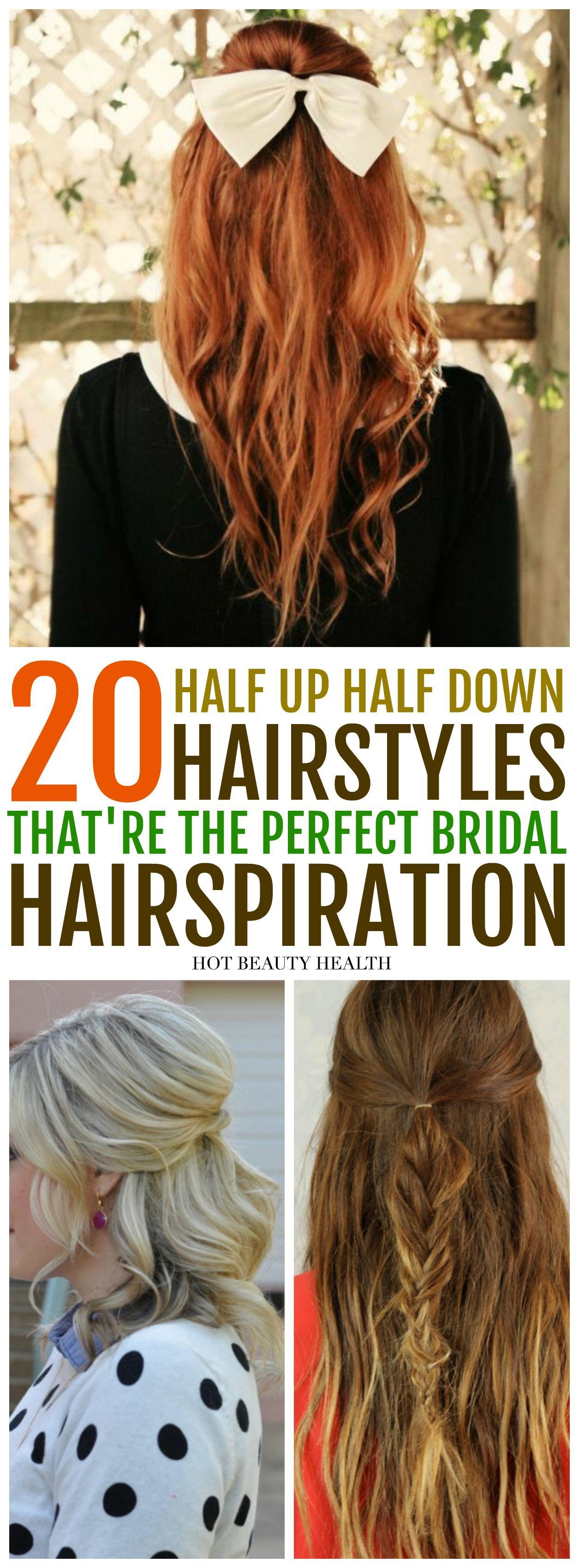 20 Beautiful Half Up Half Down Hairstyles Frisuren Offene Haare Frisuren Langhaar Lange Hochzeit Frisuren