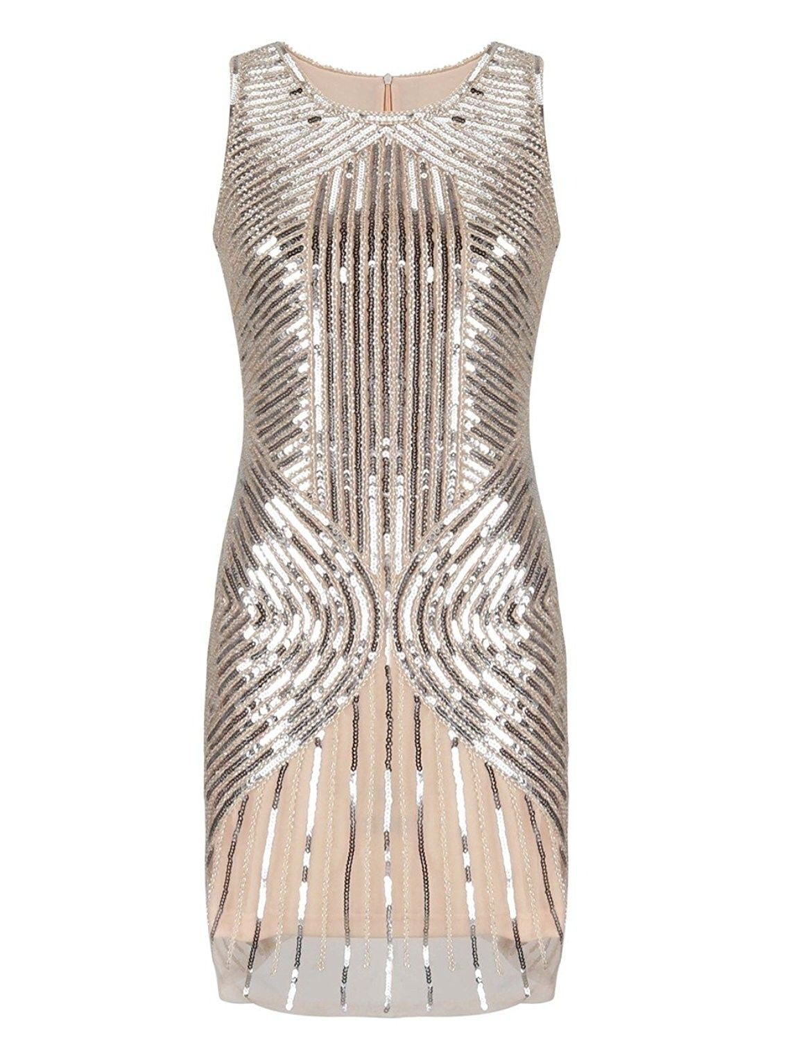 459935ac27b I want to marry this dress!!! Vintage Bergdorf Goodman Bugle Beaded  Cocktail Dress by Vigan