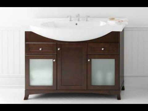 Narrow Depth Bathroom Vanity | Vanity, Bathroom, Bathroom ...
