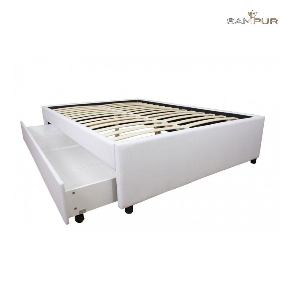 le tiroir box est un lit avec un grand