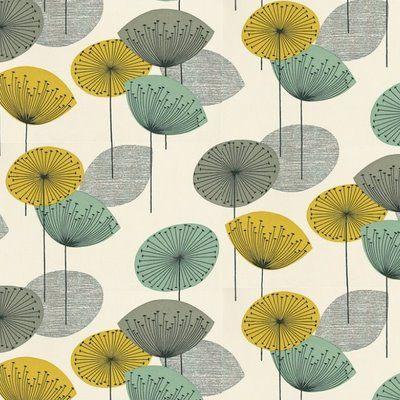 Fiona howard for sanderson 39 dandelion clocks 39 wallpaper - Sanderson dandelion clocks wallpaper ...