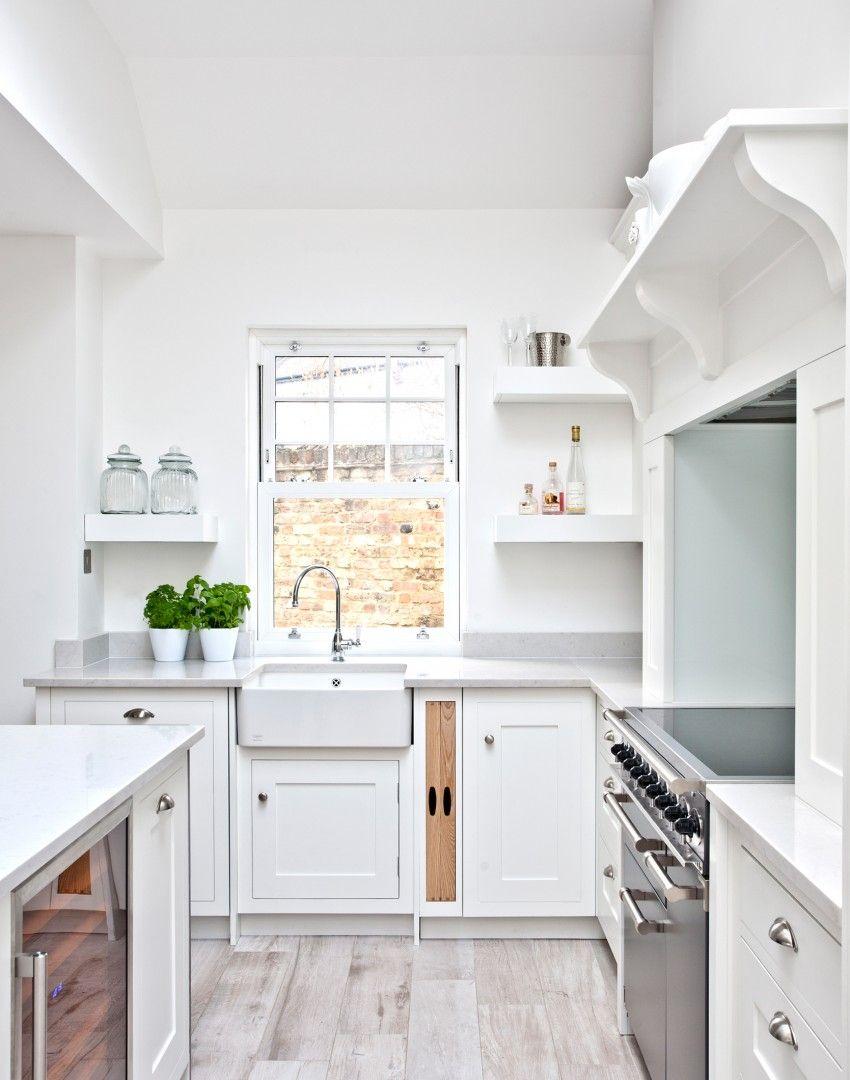 Traditional minimalist white kitchen | Redux Inspire | Pinterest ...