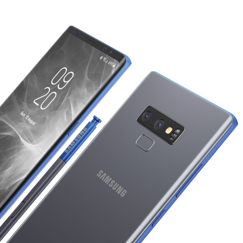 Samsung Galaxy Note 9 All colors Preview