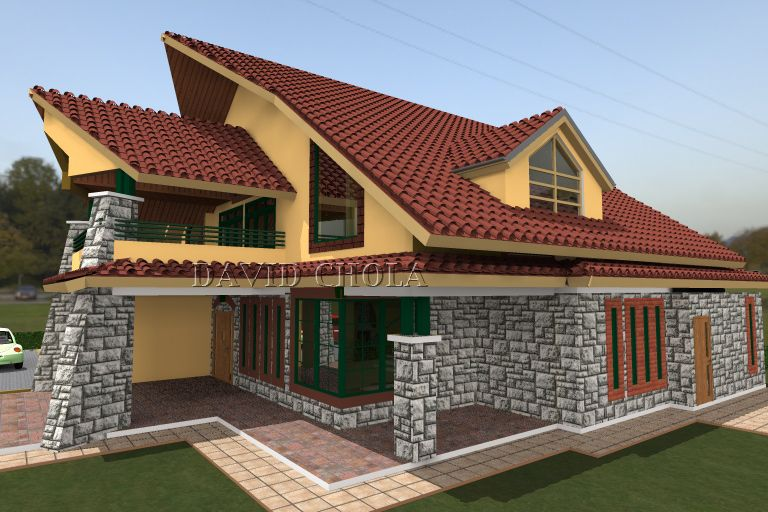 Modern House Frontage Quickbooksnumbers Pinterest Kenya