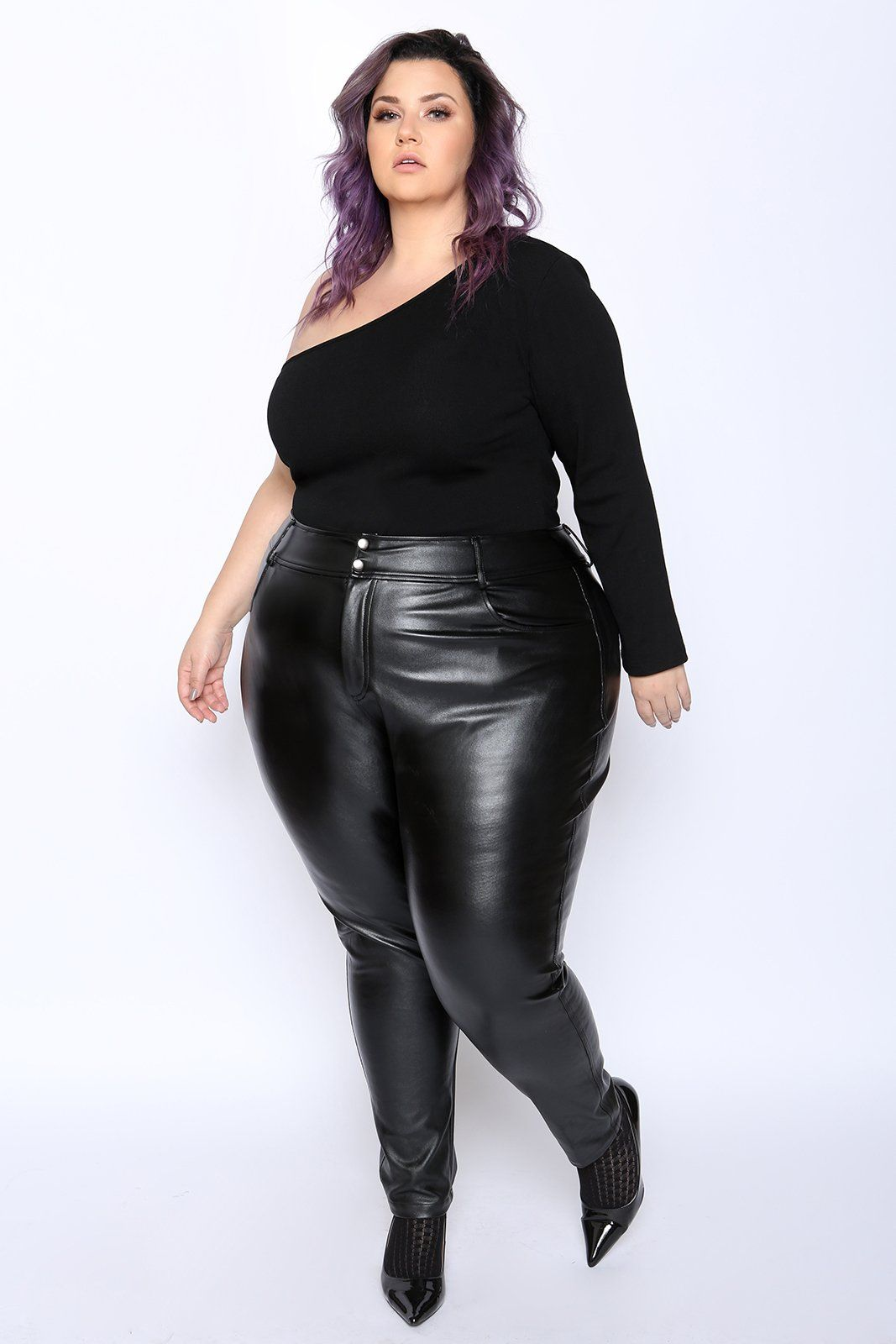 ef7bec94d3f Gain instant admirers in these faux leather leggings. The perfect cross  between leggings and a pant