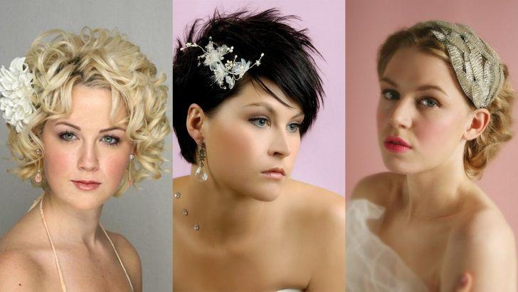 Country Wedding Hairstyles For Short Hair Wedding Hairstyles For Curly Short Length Hair Wedding Day Hairstyles Short Hair Wedding Hairstyles For Short Hair