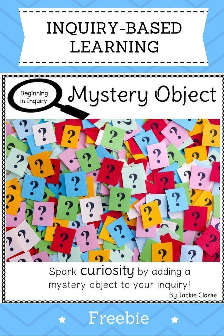 Beginning in Inquiry: Mystery Object   Fall in Kindergarten