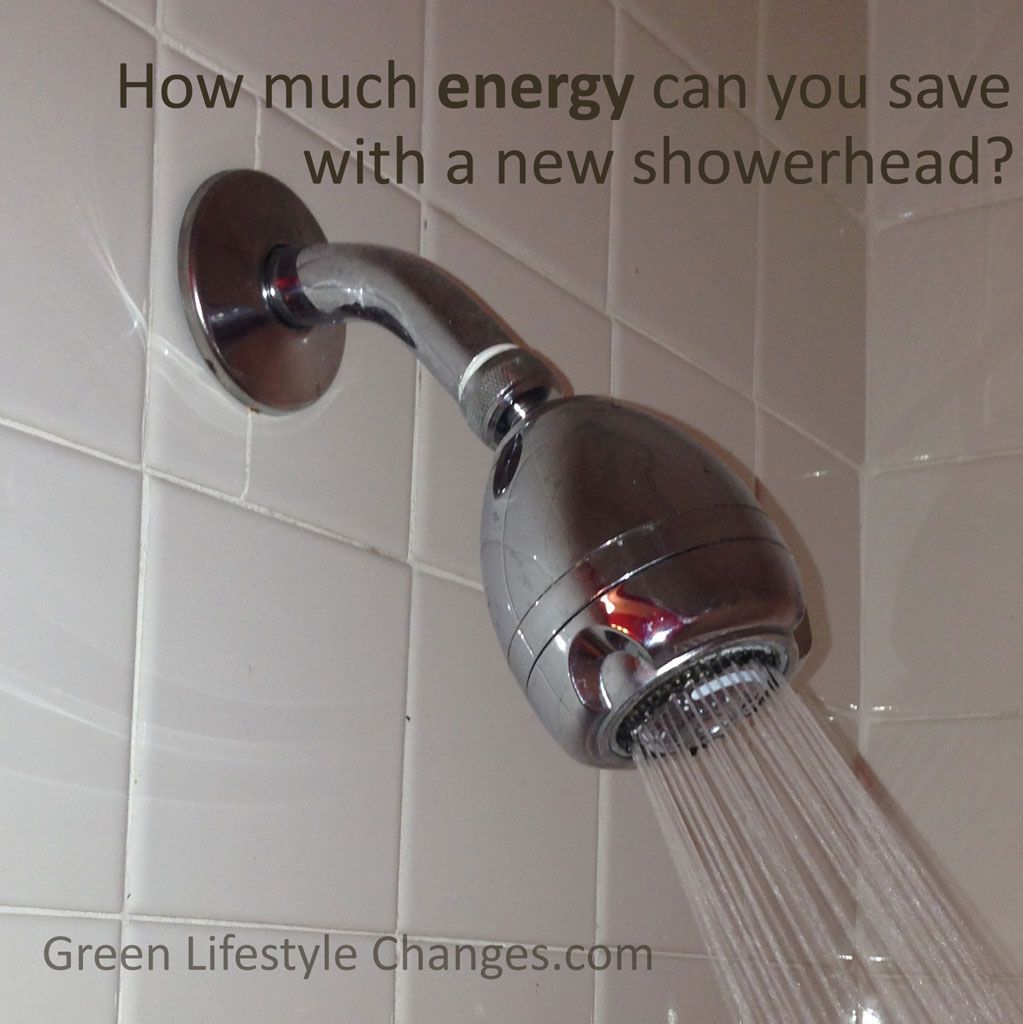 How Much Energy Can You Save With A New Showerhead Save Water