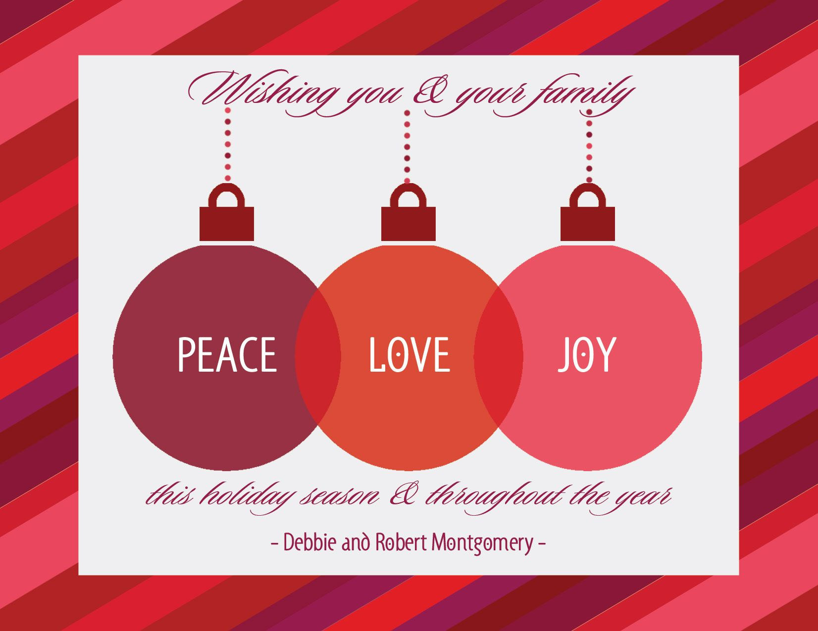 Peace Love Joy Quotes May Be The Peace Joy & Love Be Shown To Family Friends & Loved