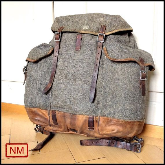 Vintage army backpacks consider, that