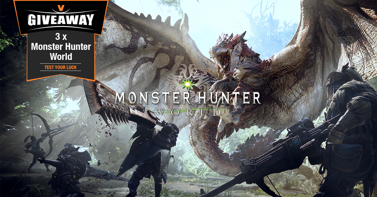 MONSTER HUNTER WORLD GIVEAWAY PC