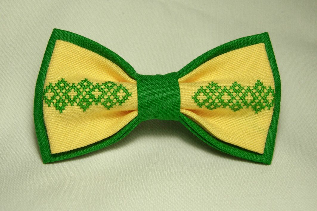 FREE SHIPPING WORLDWIDE, embroidered bow tie, Men's bow tie, Armenian handmade, modern bow tie, armenian pattern bow tie, made in armenia by BowX on Etsy