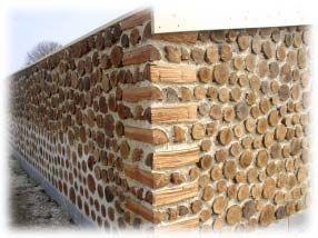bois cord 233 construction search maison bois corde et bouteille maisons