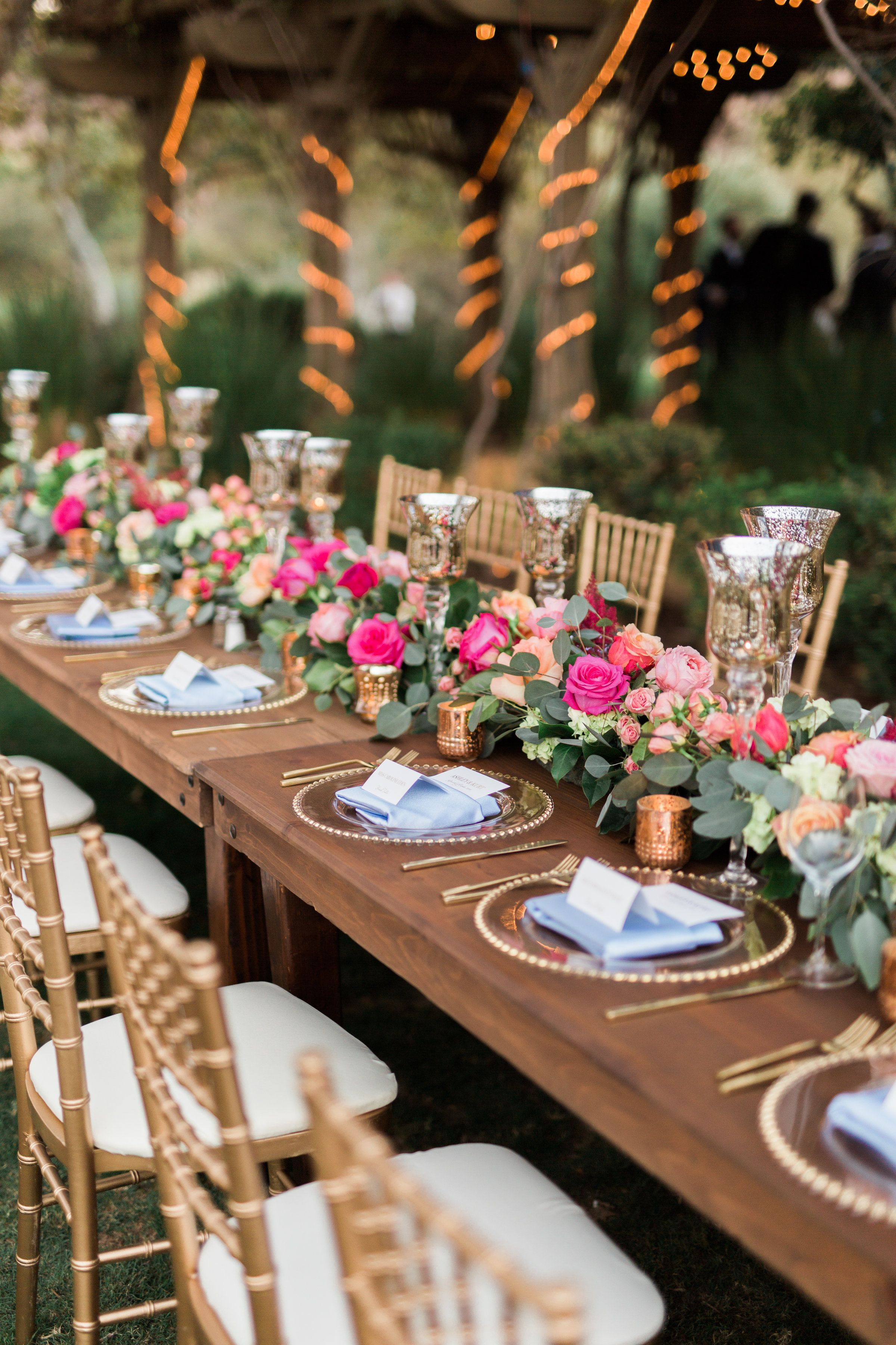 They Danced All Night Long At This Romantic Garden Chic Wedding in ...