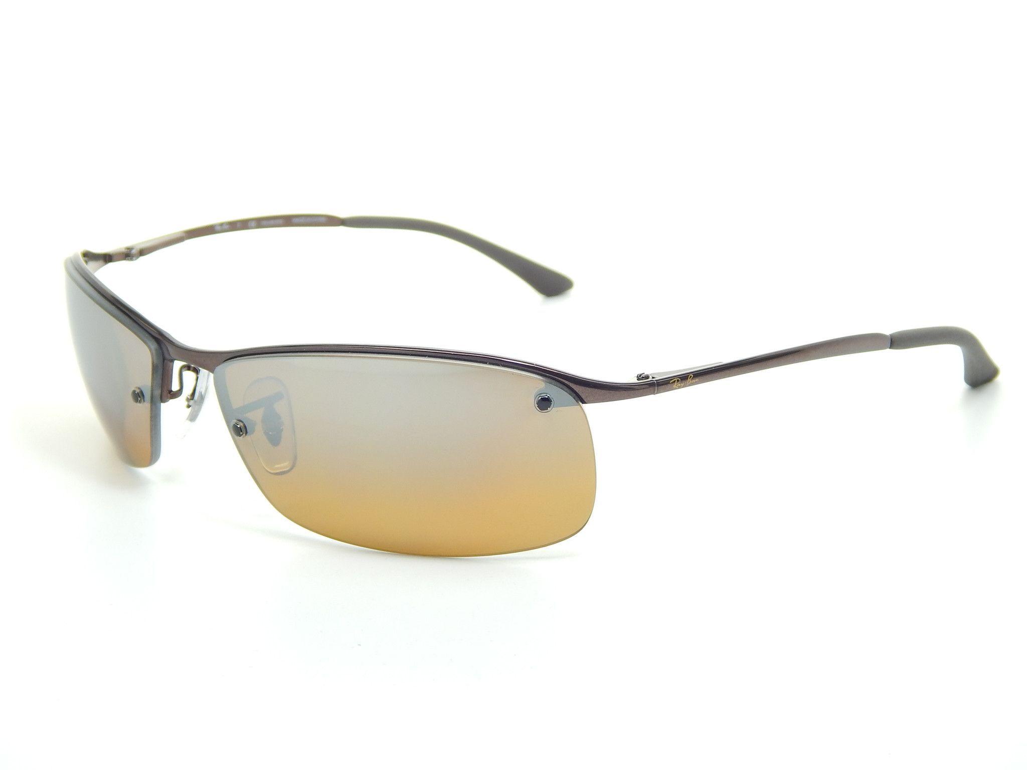 62fbf8b3fbd1d3 Ray Ban RB3183 014 84 Brown  Brown Gradient 63mm Polarized Sunglasses