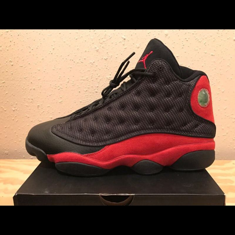 buy popular 83e37 0a972 Jordan Shoes | Air Jordan Bred 13s | Color: Black/Red | Size ...