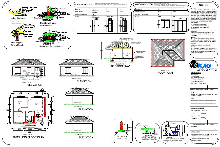 Simple Free Bulding Plan Pdf Com | PANO | Pinterest | Flat roof ...
