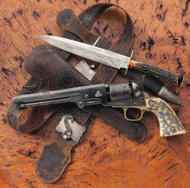 Lock, Stock, and History, Colt Model 1851 with silver ...