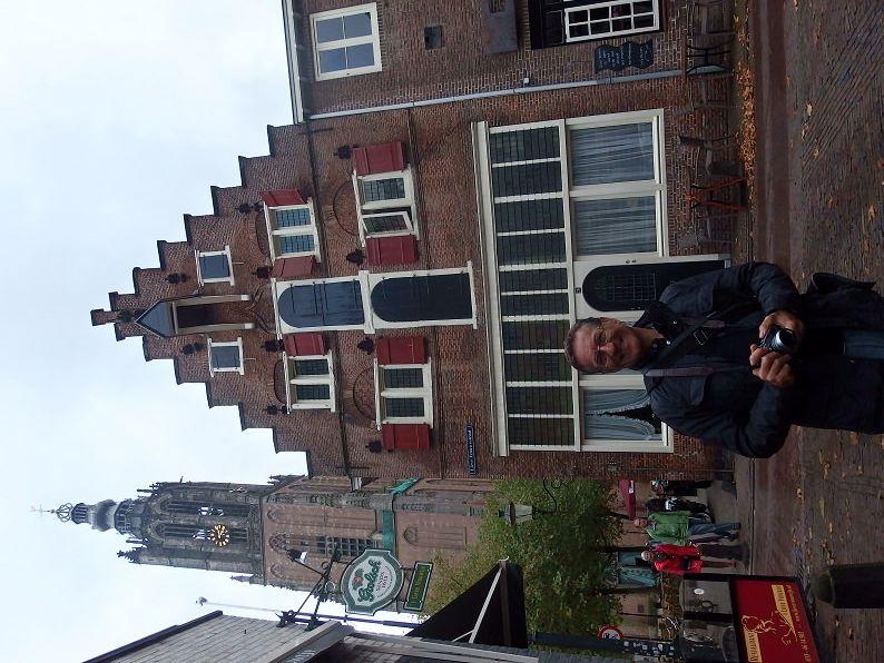 Civitelli na sua faceta de turista na Holanda - 2014