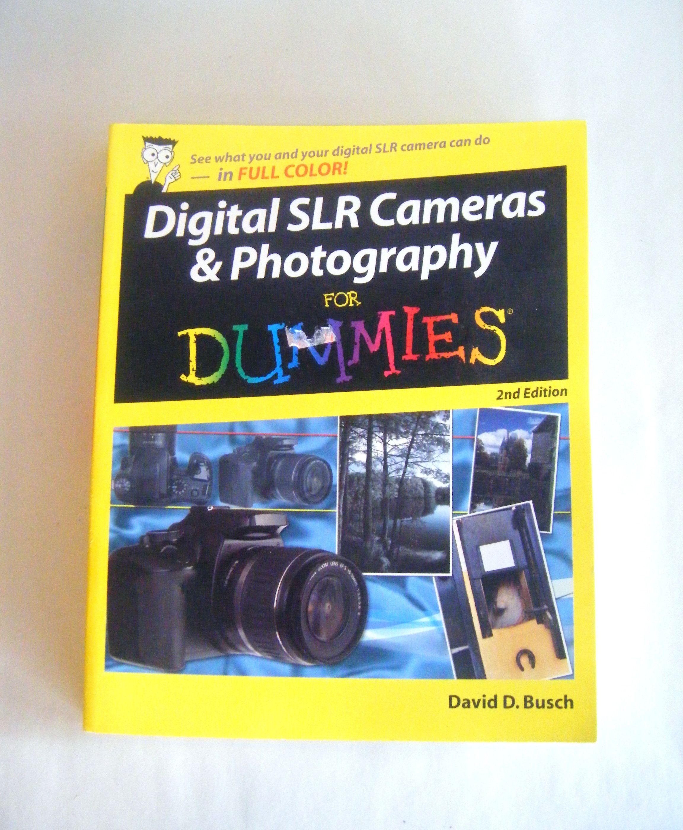 Digital SLR Cameras & Photography for Dummies Paperback ...