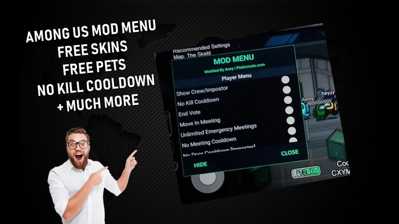 Among Us Mobile Mod Menu How To Be Always Imposter More Android Ios Among Us Hack Free Youtube In 2020 Imposter Free Youtube Mod