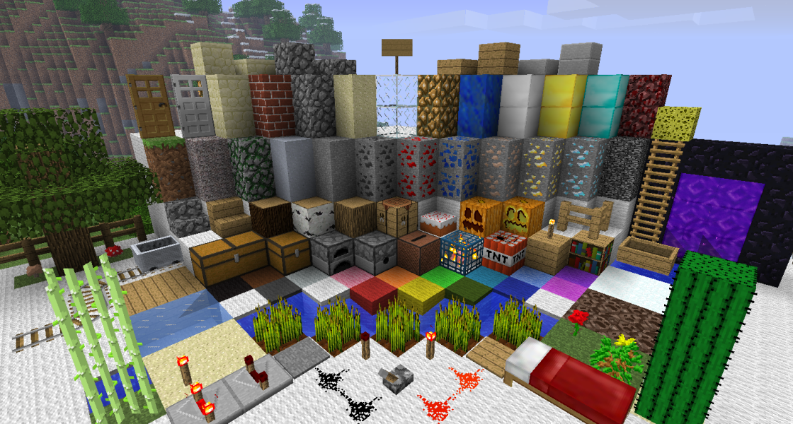 Minecraft Texture Packs And Resource Packs For 1 7 4 1 7 2 1 6 4 1 5 2 Vgchartz Texture Packs Minecraft 1 Minecraft Pocket Edition