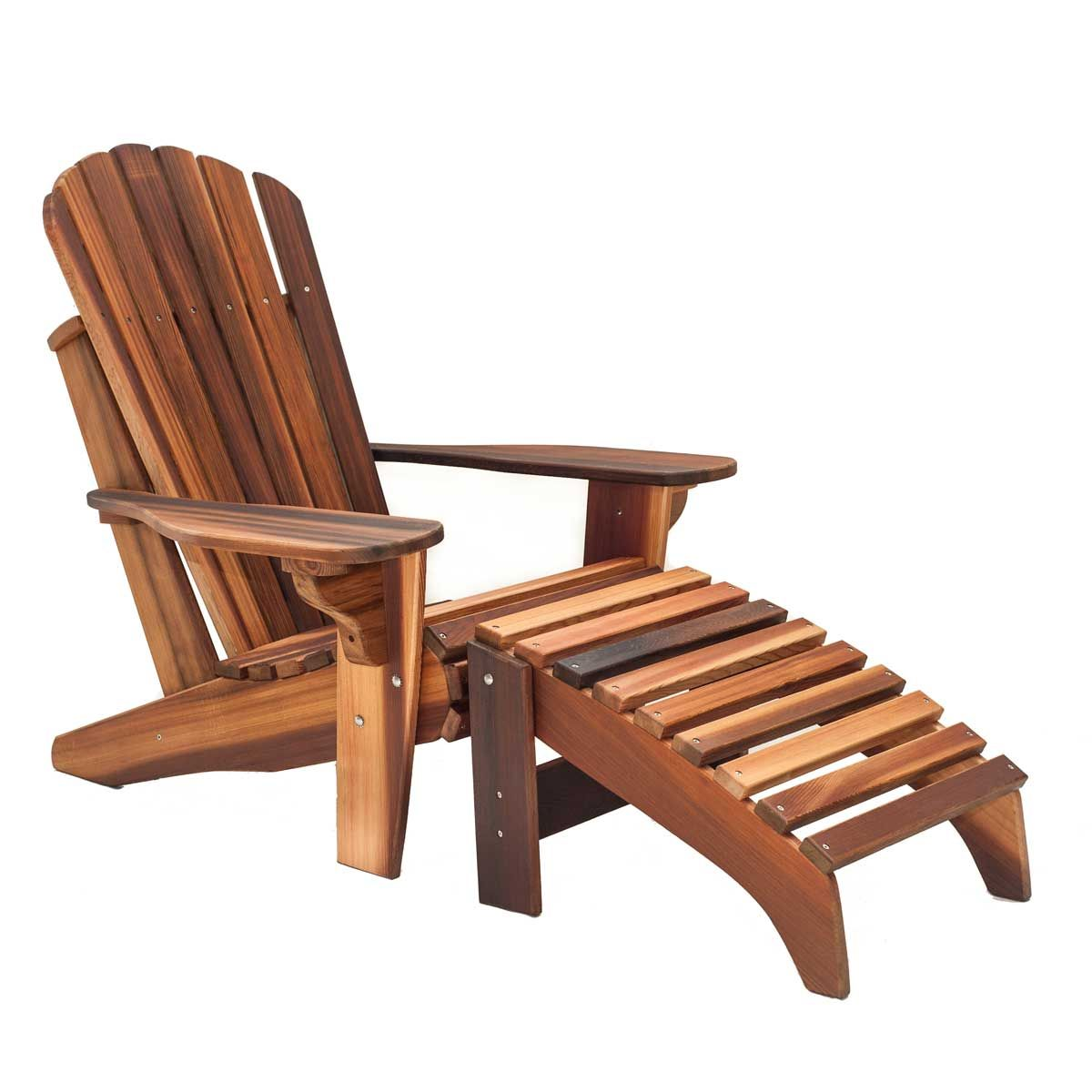 Captivating Adirondack Chair With Footrest