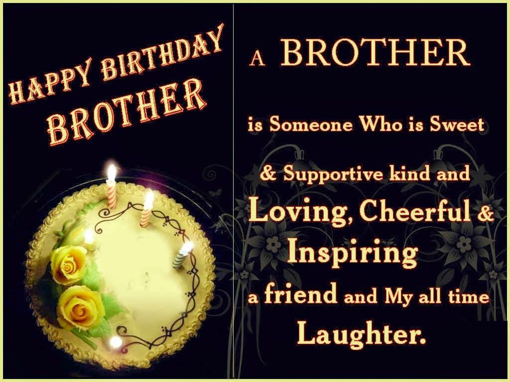 Happy Birthday Brother Quotes Birthdays Pinterest Happy