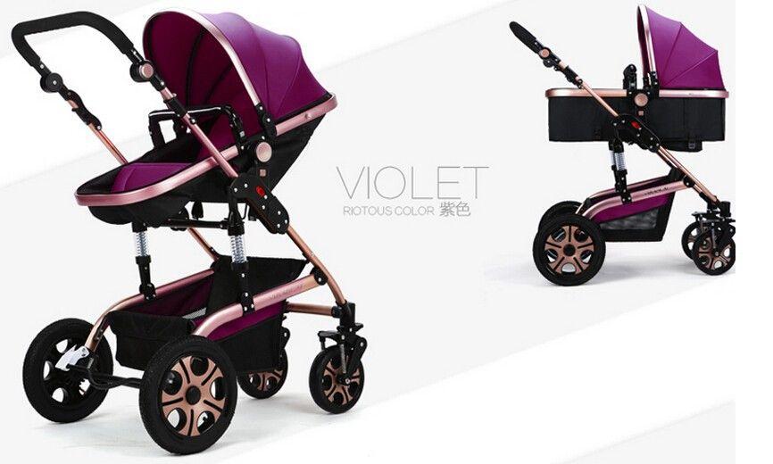 new european style luxury kinderwagen baby stroller air. Black Bedroom Furniture Sets. Home Design Ideas