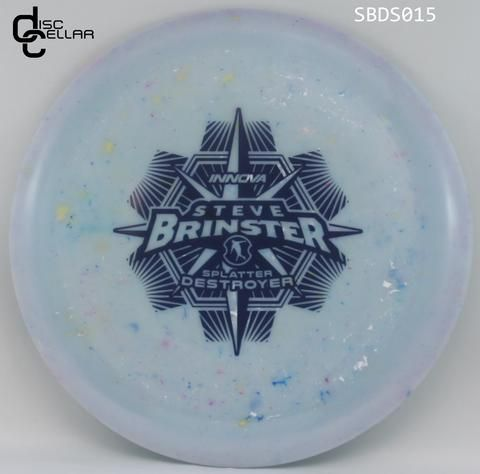 Innova Destroyer Star Splatter Steve Brinster Tour Series 2017 Steve Disc Golf Bag Golf Pictures