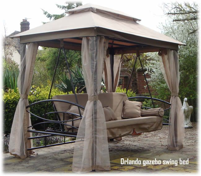 Garden Furniture Swing Seats outdoor bed swing plans | orlando:luxor style luxury garden swing
