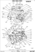 Ford Truck Technical Drawings and Schematics  Section E     Engine    and Related Components