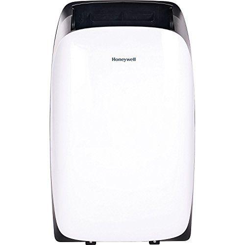 Honeywell Hl14ceswk Hl Series 14 000 Btu Portable Air Conditioner With Dehumidifier Fan In Whi Air Conditioner With Heater Portable Air Conditioner Honeywell